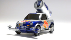 Be-1 RedBull Sampling Campaign Car