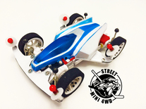 #streetmini4wd Super Dyna Hawk on SXX chassis and thermoformed body!